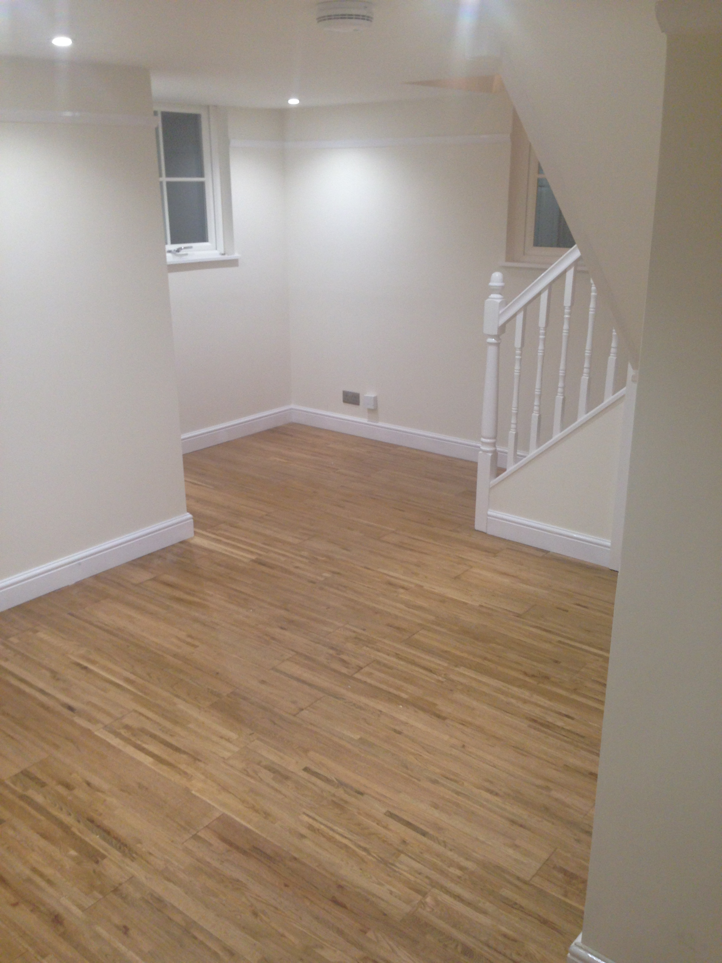 Oak Flooring With New Skirting Boards Quite Simply